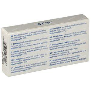 Eye Fresh Lentilles Mensuelles Souples 6-pack  -5,25 1 pièce