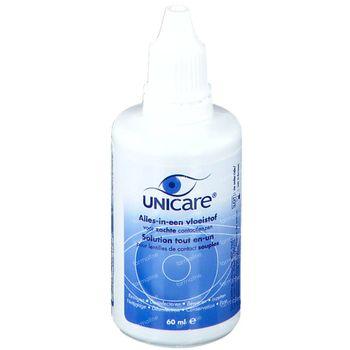 Unicare All-in-One Lentilles de Contact Souples Liquides 60 ml