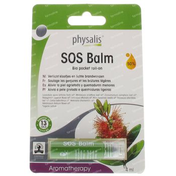 Physalis SOS Baume Roll-On Bio 4 ml