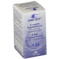 Unicare Weiche Monatslinsen -1,25 4 st