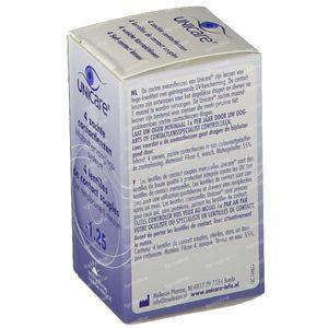 Unicare Souple Lentilles Mensuelles -1,25 4 pièces