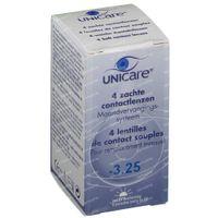 Unicare Weiche Monatslinsen -3,25 4 st