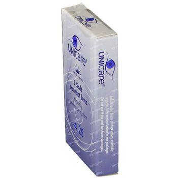Unicare Souple Lentilles Mensuelles -4,25 1 pièce