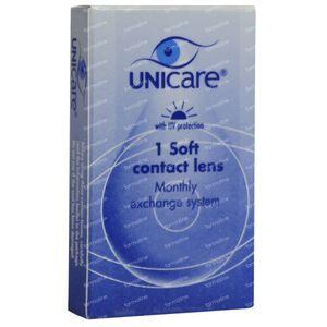 Unicare Souple Lentilles Mensuelles -4,75 1 pièce