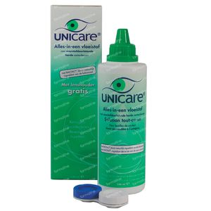 Unicare All-in-One Liquid Hard Contact Lenses 240 ml