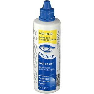 Eye Fresh No Rub Lentilles de Contact Souples 240 ml