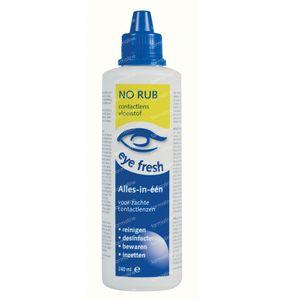 Eye Fresh No Rub Lentilles de Contact Souples 240 ml