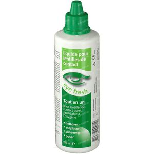 Eye Fresh All-in-One Liquid Hard Contact Lenses 240 ml