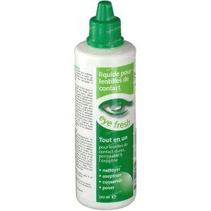 Eye Fresh All-in-one Liquide Lentilles de Contact Dures 240 ml
