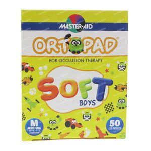 Ortopad Soft Boys Medium 76x54mm 72242 50 stuks