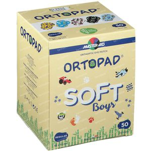 Ortopad Soft Boys Regular 85x59mm 72244 50 pièces