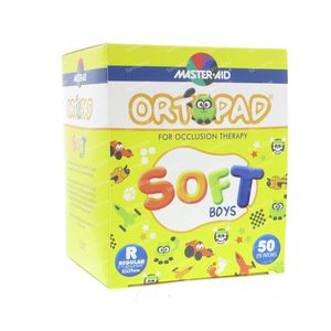 Ortopad Soft Boys Regular 85x59mm 72244 50 pièces