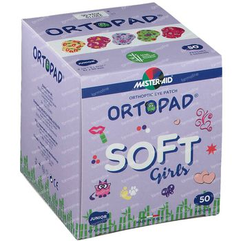 Ortopad Soft Girls Junior 67x50mm 72231 50 pièces