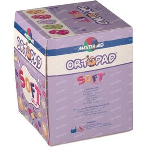 Ortopad Soft Girls Regular 85x59mm 722234 50 stuks