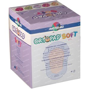 Ortopad Soft Girls Medium 76x54mm 72232 50 pièces