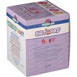 Ortopad Soft Girls Medium 76x54mm 72232 50 pièces