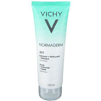 Vichy Normaderm 3-in-1 Gel Nettoyant 125 ml