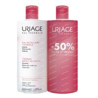 Uriage Thermaal Micellair Water Gevoelige Huid DUO 2x500 ml