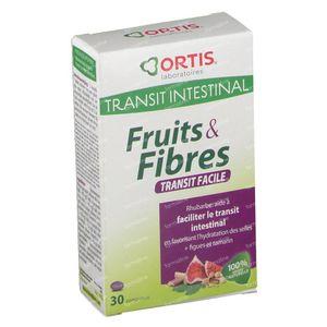 Ortis Fruits + Fibres Transit 30 comprimés