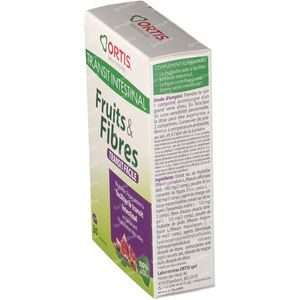 Ortis Fruits + Fibres Transit 30 compresse