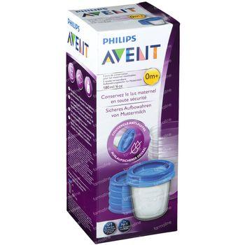 Avent Via Natural Set Tasse De Stockage 180ml 180 ml