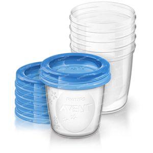 Avent Via Natural Set Storage Cup180ml 180 ml