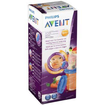 Avent Via Natural Set Tasse De Stockage 240ml 240 ml