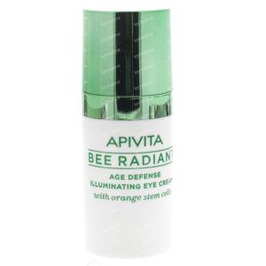 Apivita Bee Radiant Crème Contour des Yeux Anti-âge 15 ml