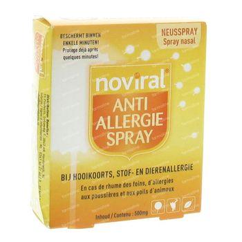 Noviral Anti-Allergie Spray 500mg 500 pièces