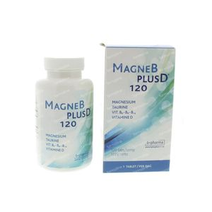 Magne B Plus D 120 tablets