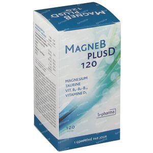 Magne B Plus D 120 tablets