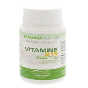 Pharmanutrics Vitamine B12 60 tablets