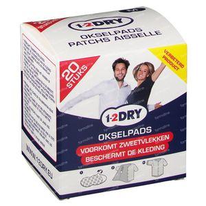 1-2DRY Patches Aiselle Medium P2-BX-M 20 pièces
