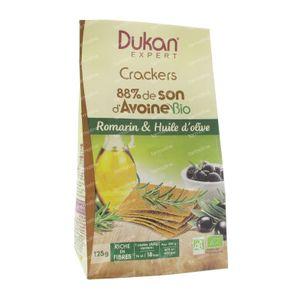 Dukan Expert Craquelins Romarin Huile d'Olive 125 g