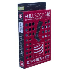 Compressport Full Socks Black Size 5XL 1