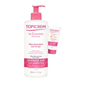 Topicrem Ultra Hydrating Bodylotion + Campioncino Spf50 500+15 ml