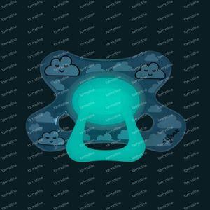 Difrax Fopspeen Dental Glow in the Dark 18 Maanden+ 1 stuk