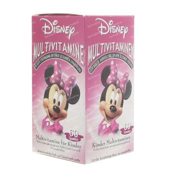 Disney Multivitamine Minnie Mouse 60 chewing-gums