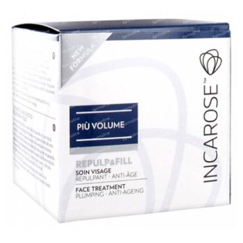 Incarose Piu Volume Repulp Gelaatscrème 50 ml