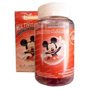 Disney Multivitamine Mickey Mouse 60 chewing-gums