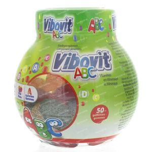 Vibovit Junior 4+ ABC Gummies 50 kaugummis