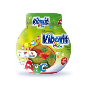 Vibovit Junior 4+ ABC Gummies 50 chewing-gums