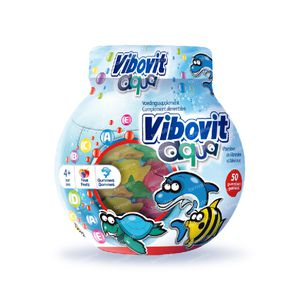 Vibovit Junior 4+ Aqua Gummies 50 chewing-gums