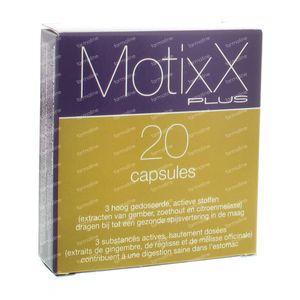 MotixX Plus 20 capsules
