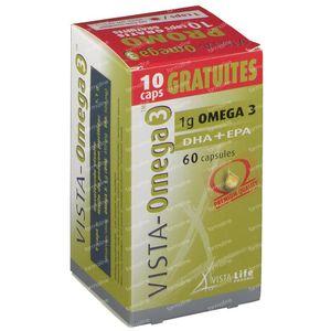 Vista Omega 3 + 10 Caps Free 50+10 capsules
