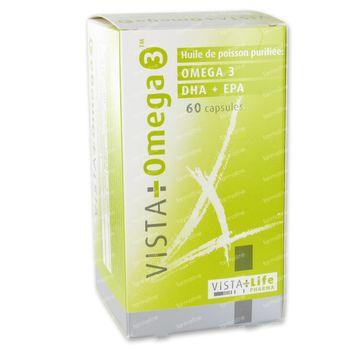 Vista Omega 3 + 10 Caps Gratuit 50+10 capsules
