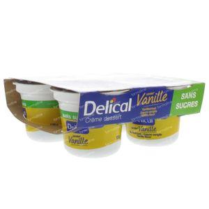 Delical Crem Dessert Hp-Hc Vanilla Without Sugar 500 g