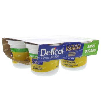 Delical Crem Dessert Hp-Hc Vanille Sans Sucre 500 g
