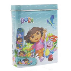 Dermocare Dora Band-Aids Blue 18 pieces