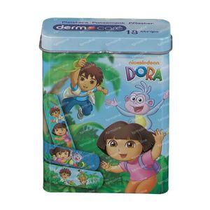 Dermocare Dora Pansements Bleu 18 pièces